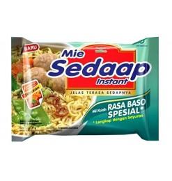 Baso Spesial Noodles (Mie Sedaap) 77gm