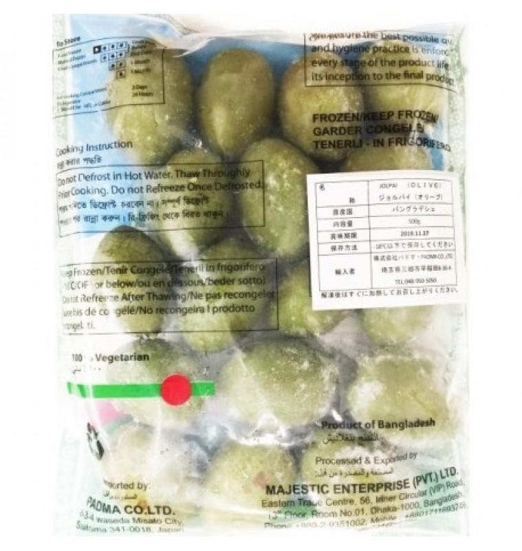 Olive Green / Kancha Jalpai (Frozen) 500gm