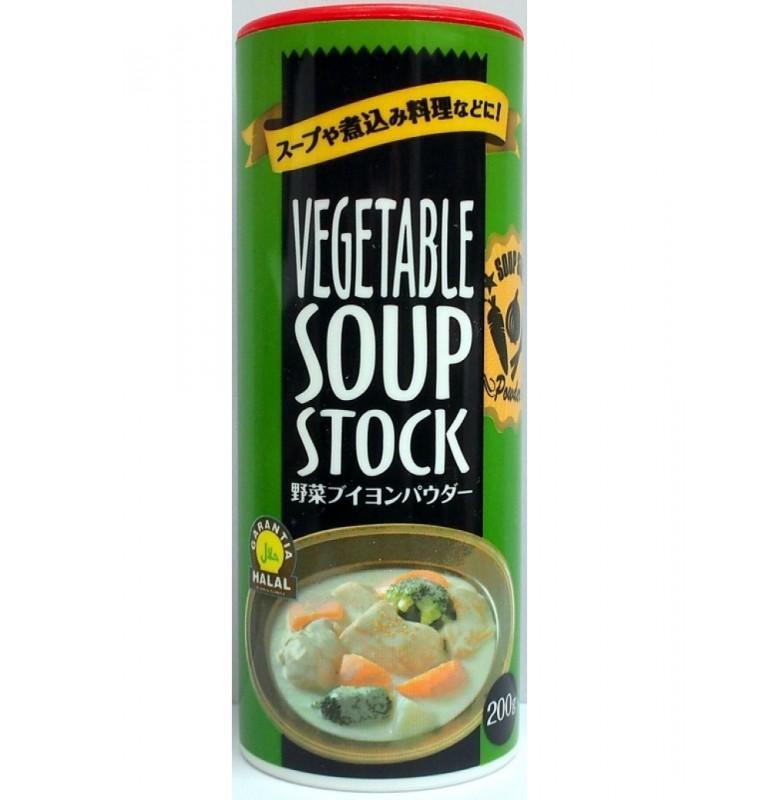 Vegetable Soup Stock / Vegetable Bouillon Powder - 200gm